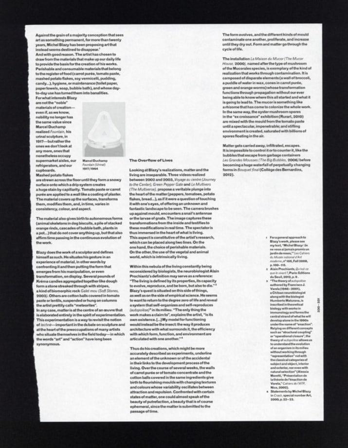 The Fountain Archives - FA 0697 B by Saâdane Afif