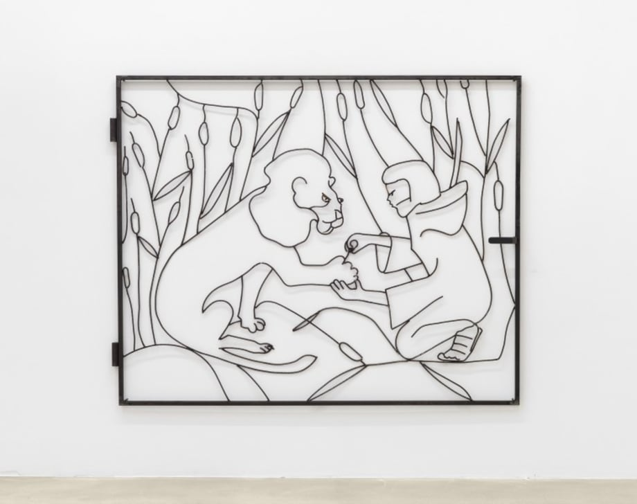 Hiernoymus und der Löwe by Lin May Saeed