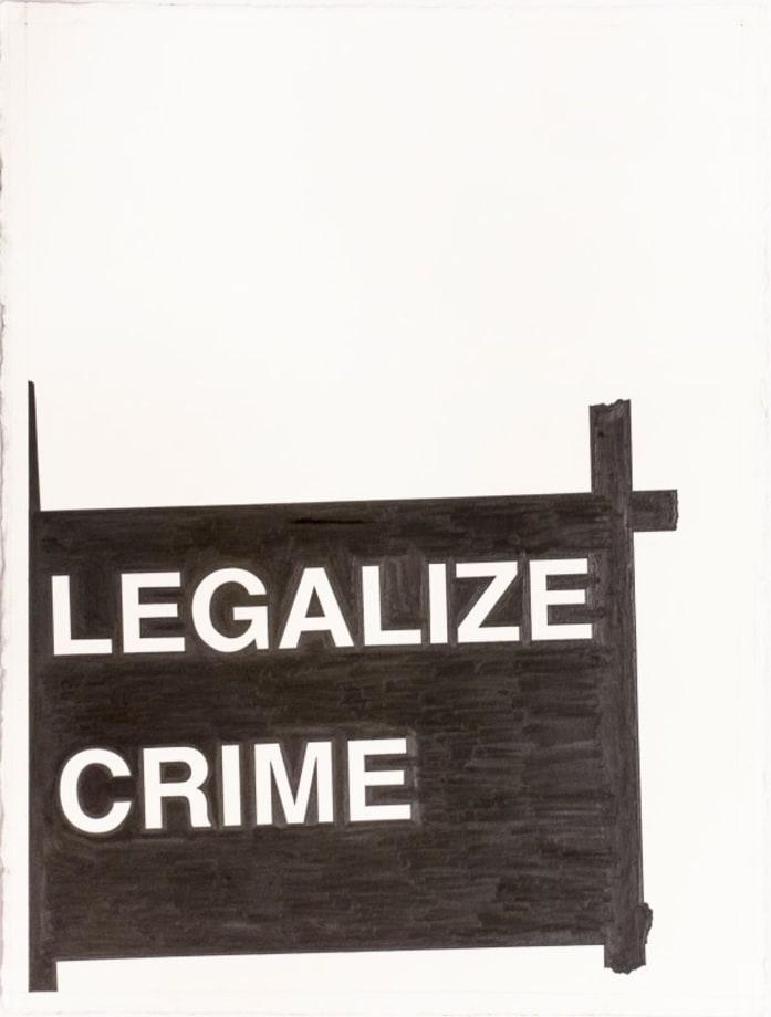 Legalize Crime by Banks Violette