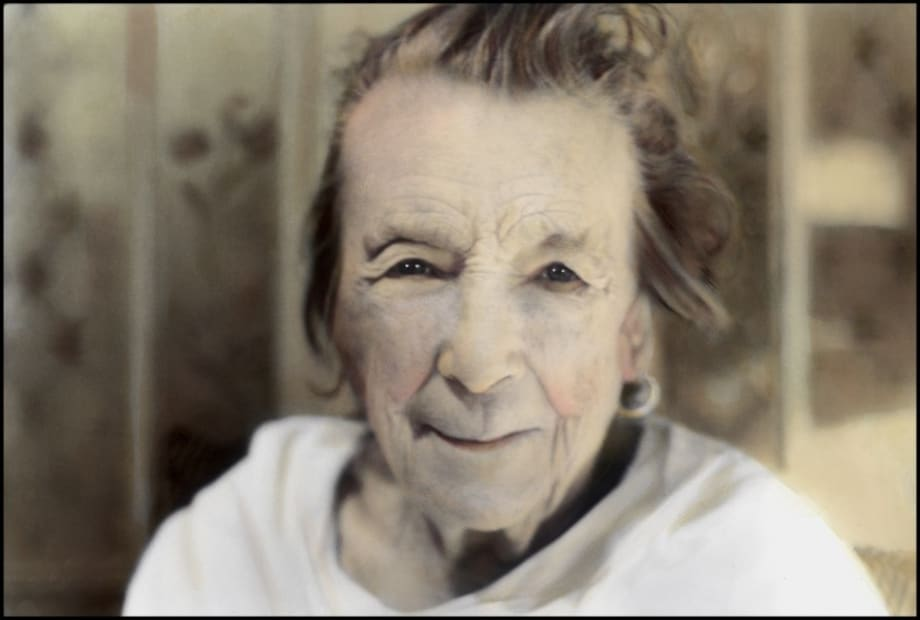 Louise Bourgeois by Youssef Nabil