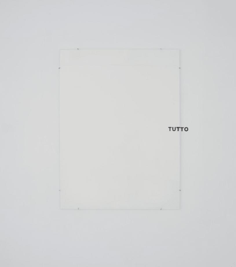 Tutto by Giovanni Anselmo