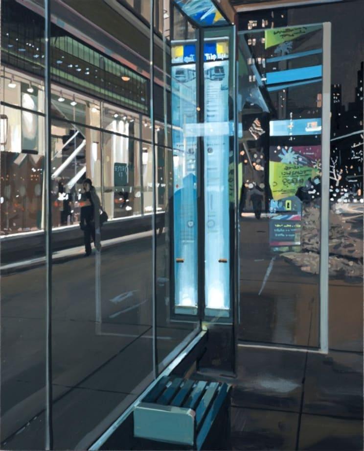 Bus Stop at Lincoln Center by Richard Estes