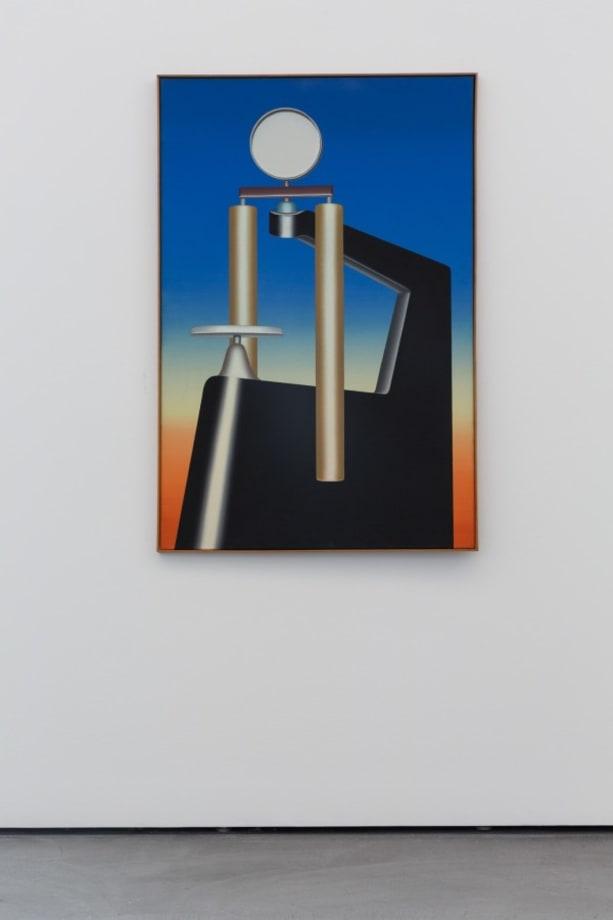 Die Wahrsagerin by Konrad Klapheck