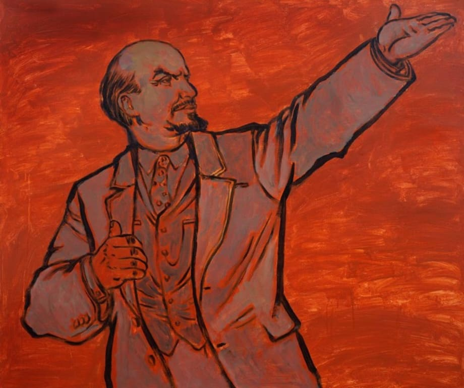 Untitled (Lenin) by Zhao Gang