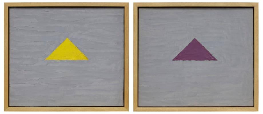 Untitled, ii. [purple] by Forrest Bess