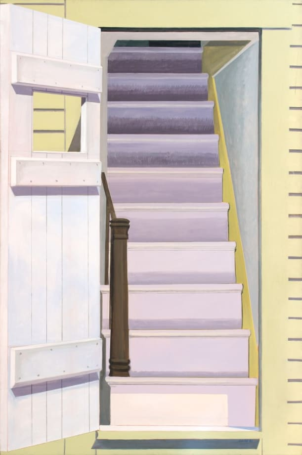 Door Staircase by Lois Dodd