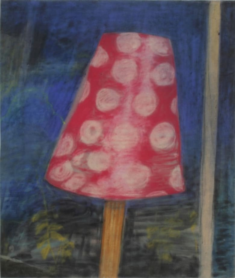 Lampshade with Polka Dots by Peter Saul
