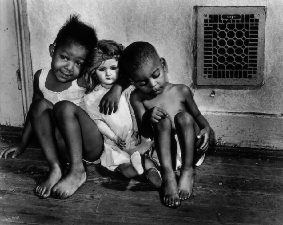 Children with Doll, Washington, D.C., 1942 by Gordon Parks