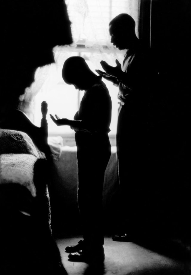 Daily Prayer, Brooklyn, New York by Gordon Parks
