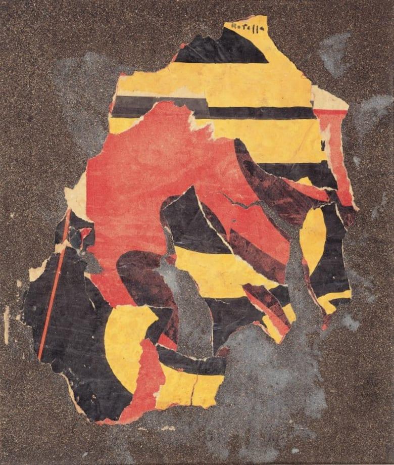 Carta Materia by Mimmo Rotella