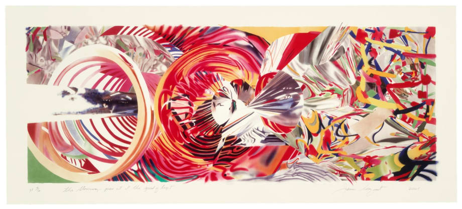 The Stowaway Peers out at the Speed of Light by James Rosenquist