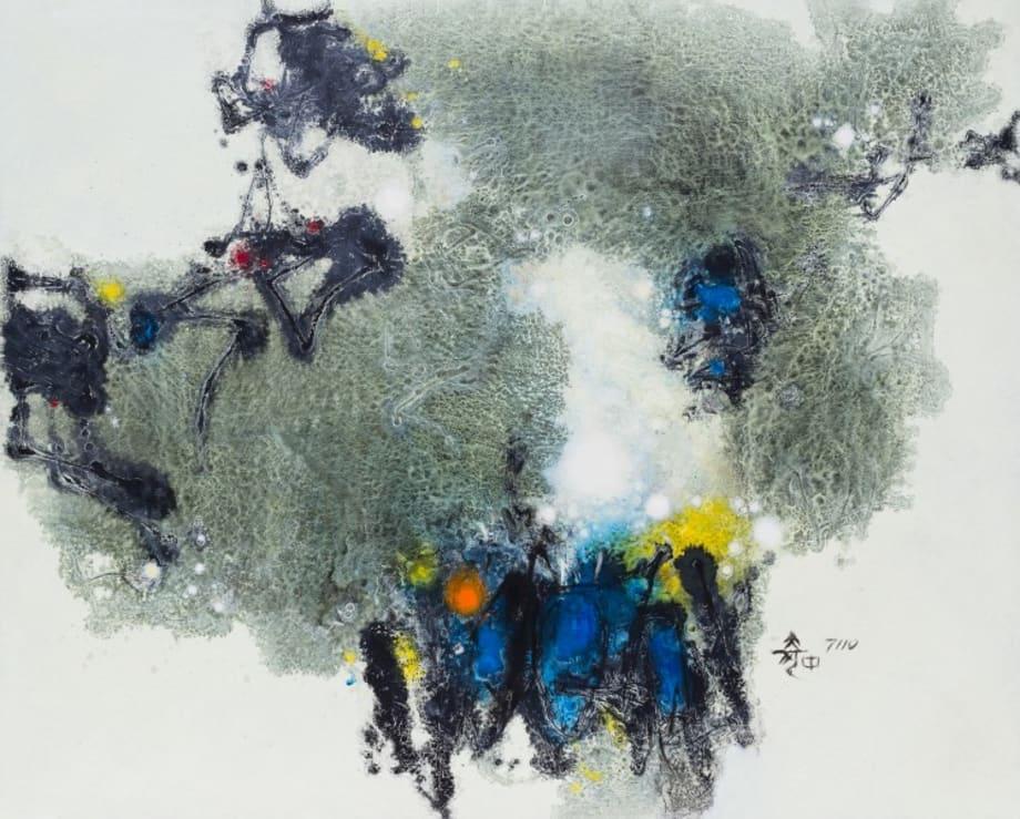 Painting #7110 by Hu Chi-Chung