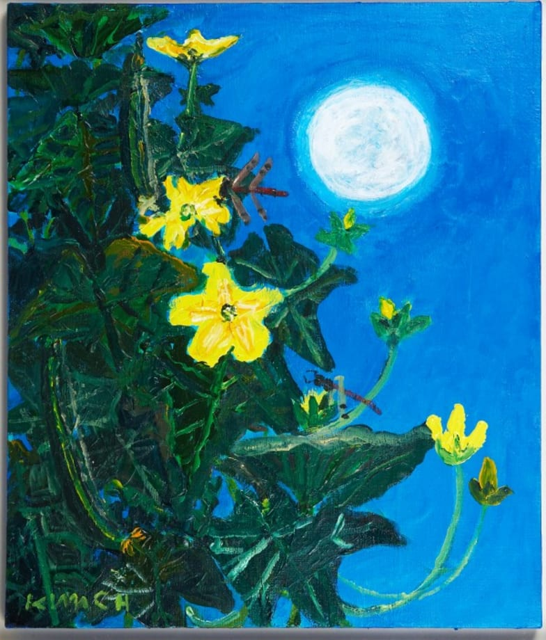Flowers and the Moon by Kim Chong Hak