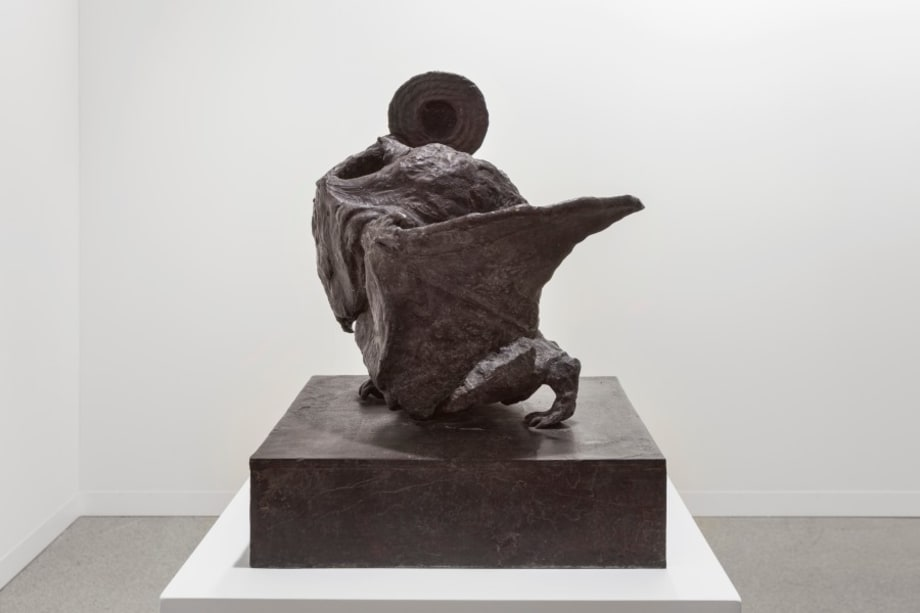 Untitled (bat) by Peter Wächtler