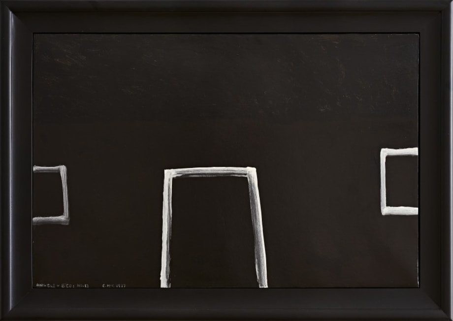 Angels and Bed no.13 by Colin McCahon