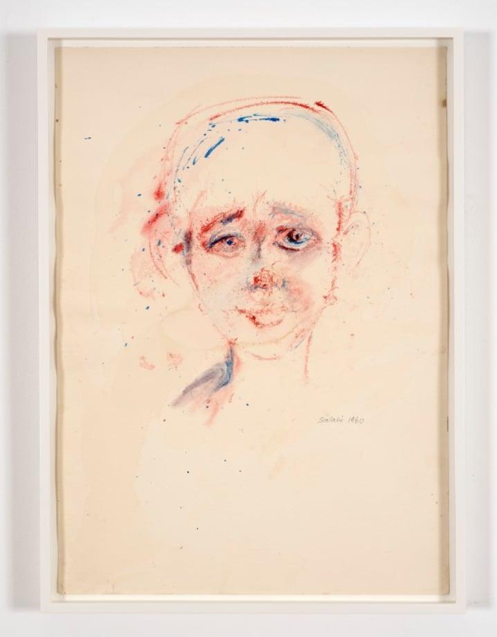 Study of a Boy's Head by Ibrahim El-Salahi