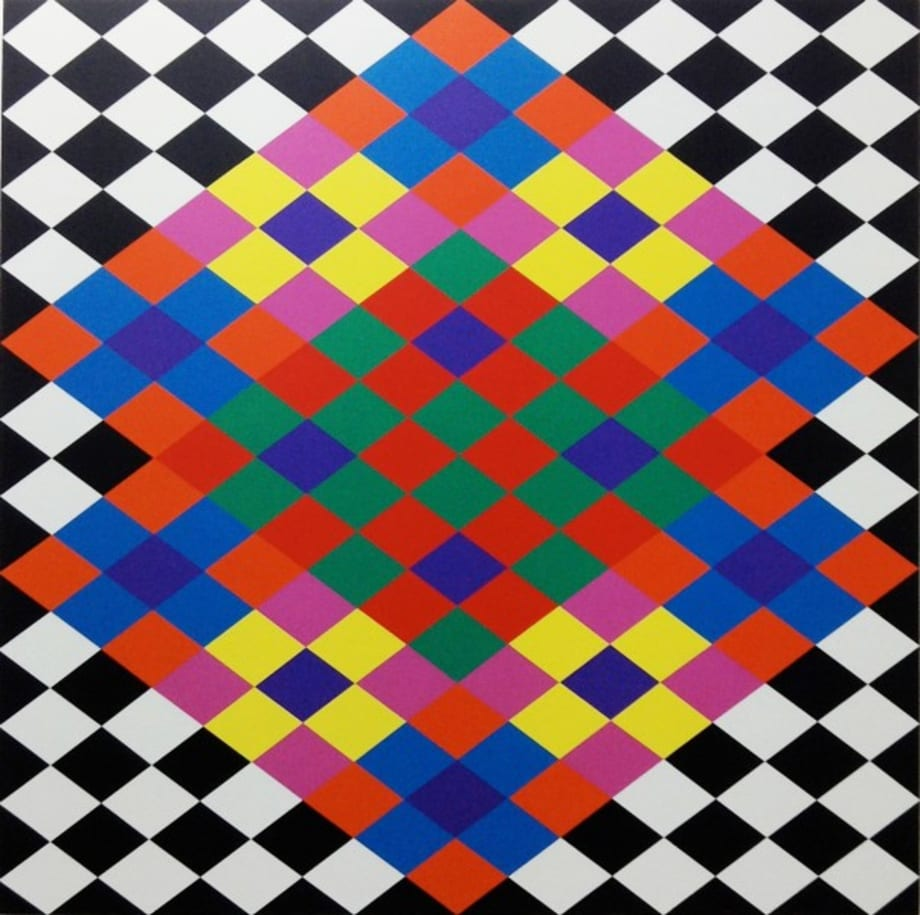 Opus AA 3 by Rasheed Araeen