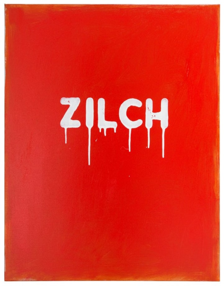 Zilch by Mel Bochner