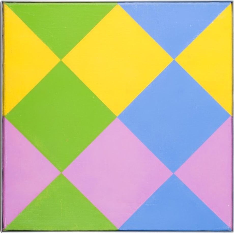 integration von vier farben by Max Bill
