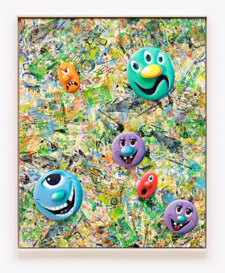 Face Facts #5 by Kenny Scharf