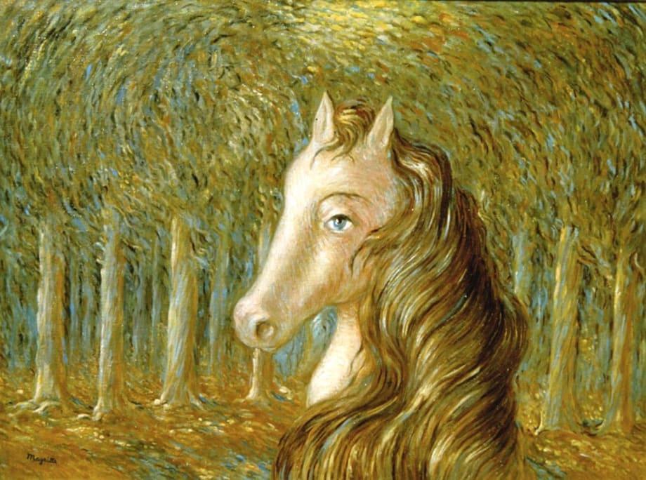 La météore by René Magritte