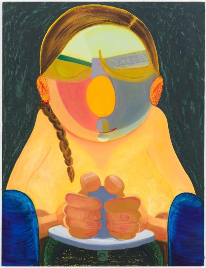 Northern California Potter Woman by Nicole Eisenman