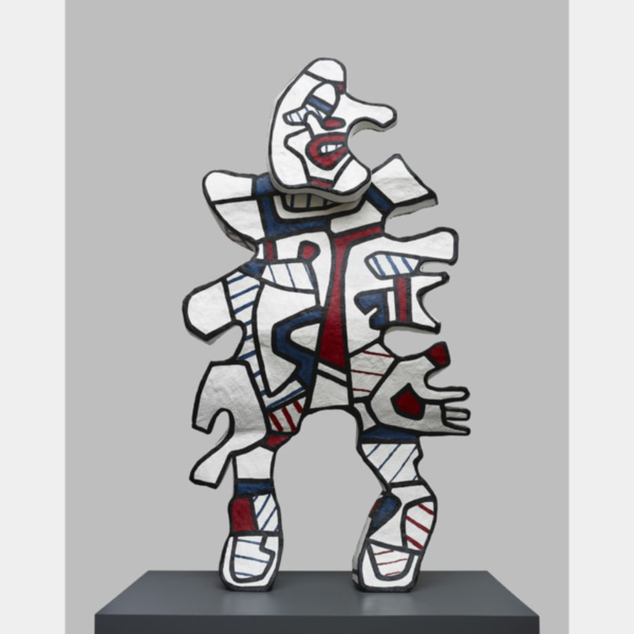 L'Incivil (after maquette dated 2 August-December 1973) by Jean Dubuffet