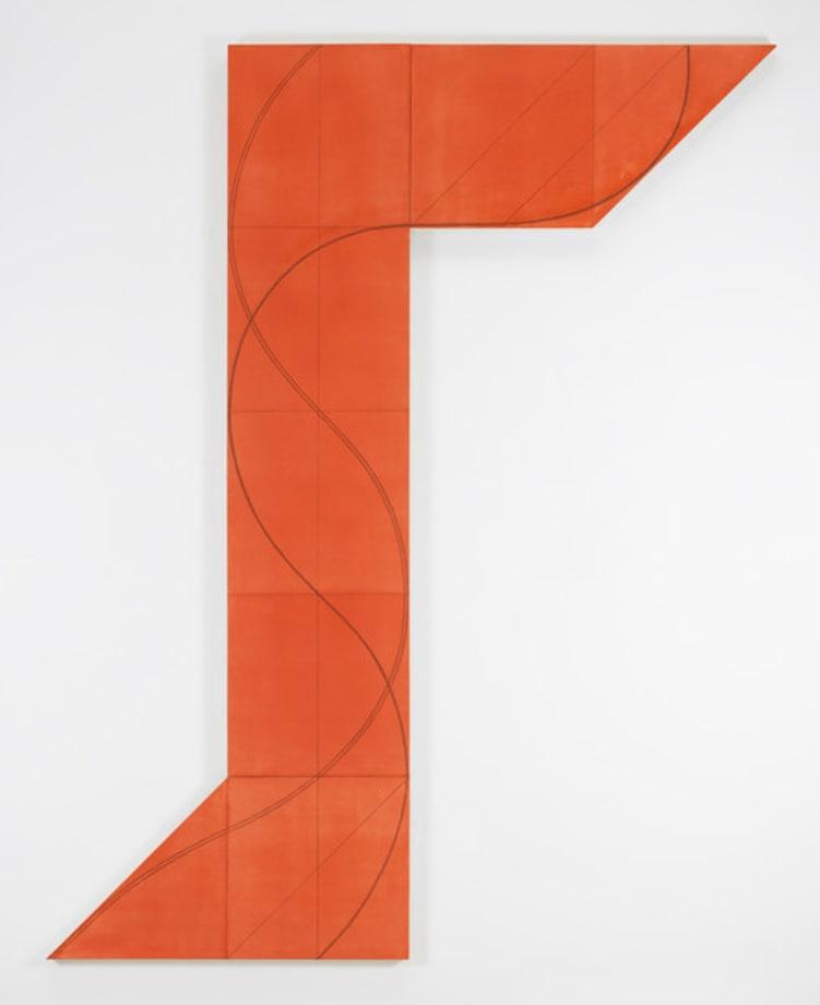 Column Structure XVI A by Robert Mangold