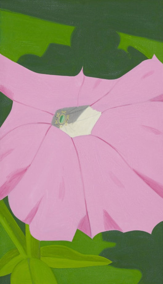 Pink Petunia No. 1 by Alex Katz