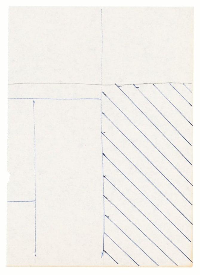 Untitled (Flat Finish 1–47) by Michael Krebber
