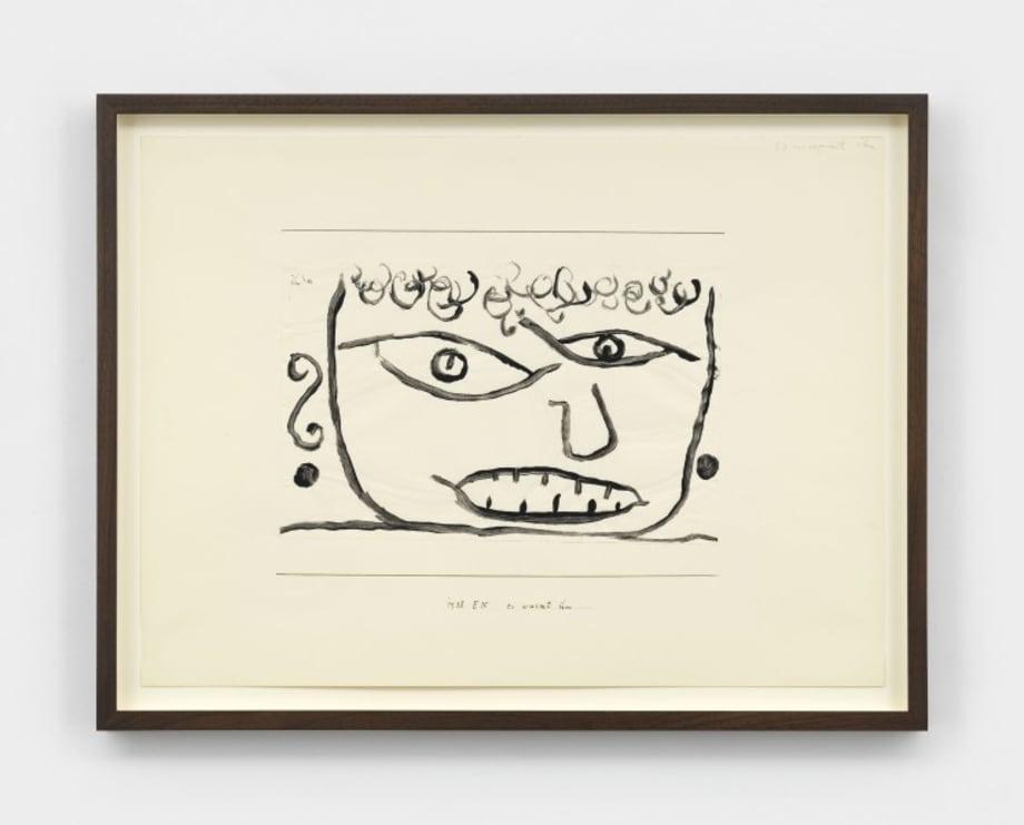es wurmt ihn (It Annoys Him) by Paul Klee