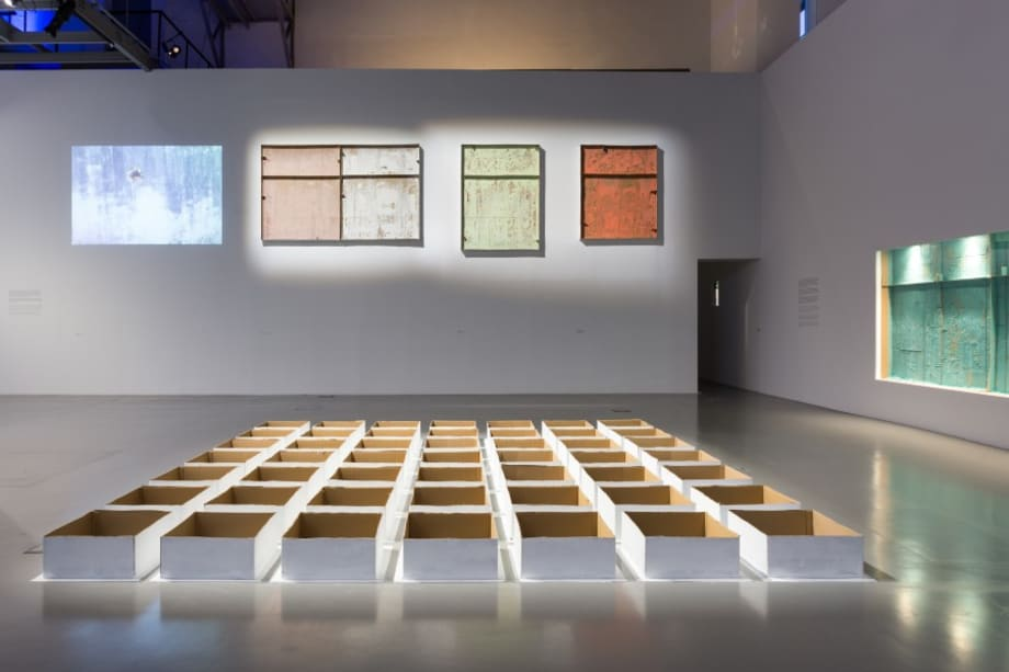 MAAT – Museum of Art, Architecture and Technology, Lisboa, installation view by Carlos Bunga