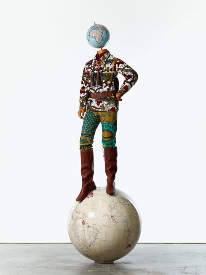 Post-Colonial Globe Man by Yinka Shonibare CBE