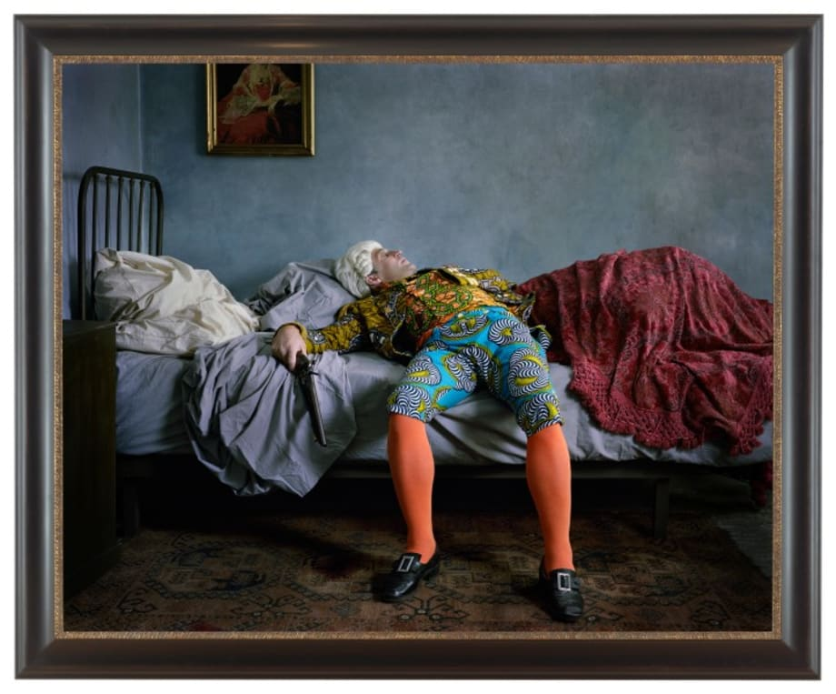 Fake Death Picture by Yinka Shonibare MBE