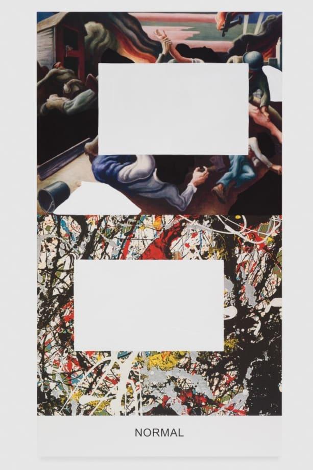 Pollock/Benton: Normal by John Baldessari