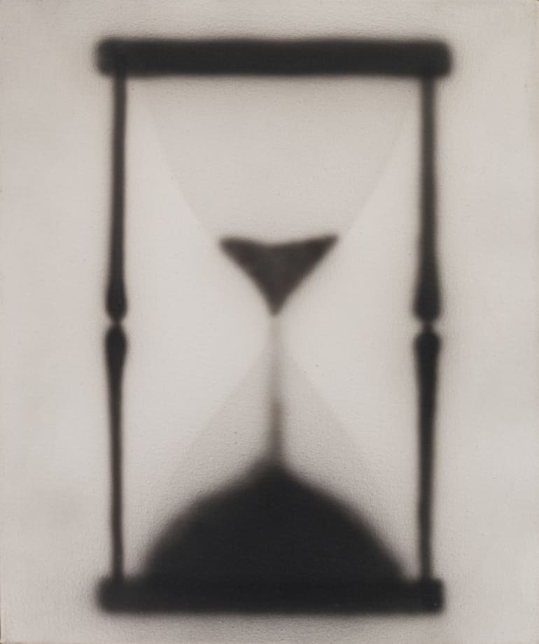 Hourglass by Ed Ruscha