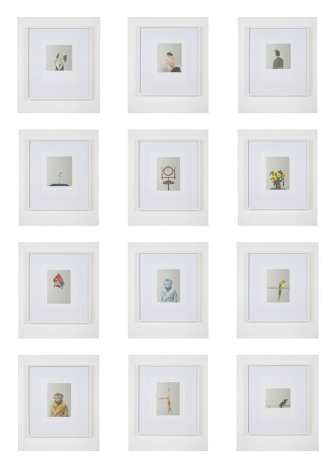 After Pistoletto (Catalogue 4) by Michael Wilkinson