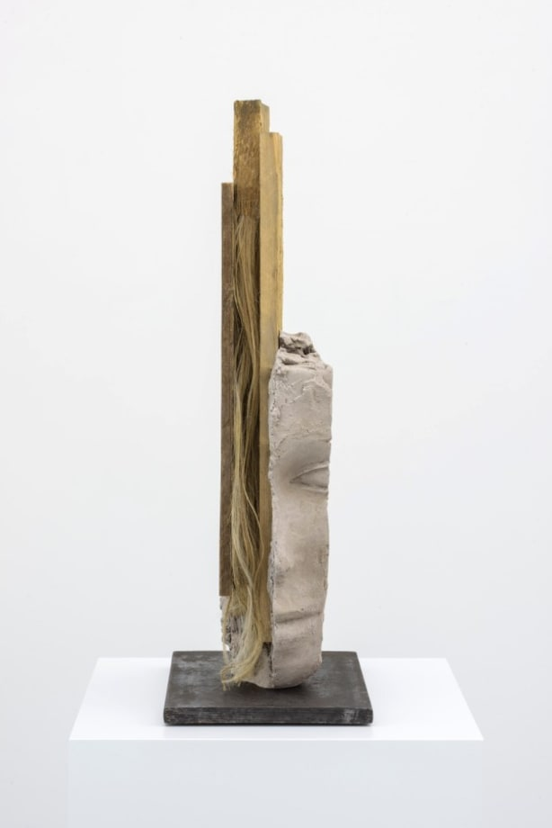 Female Head with Long Verticals by Mark Manders