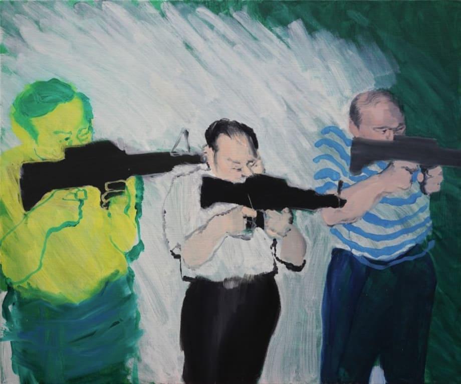 Aiming by Wang Xiaoqu