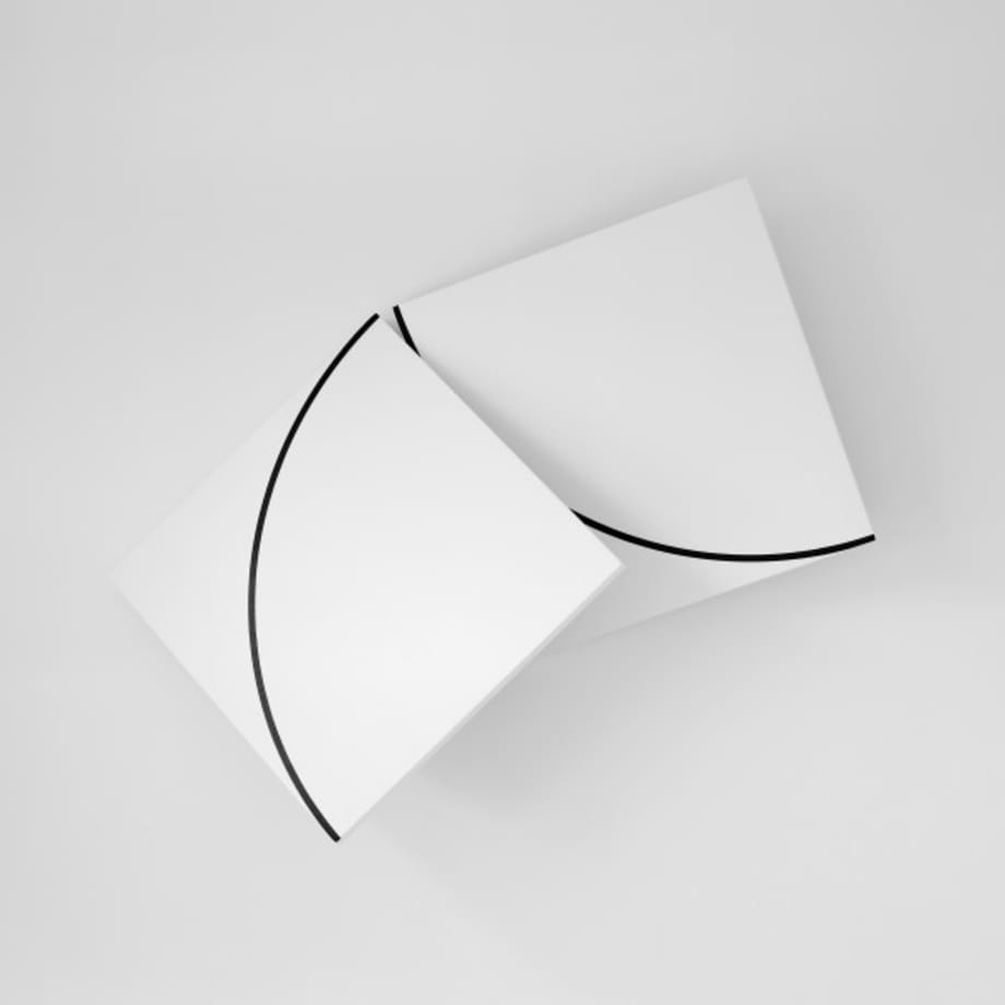 Desarcticulation n°1 by François Morellet