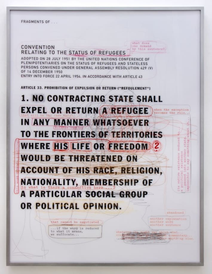 Convention relating to the Status of Refugees, Article 33. Prohibition of expulsion or return by Thomas Locher
