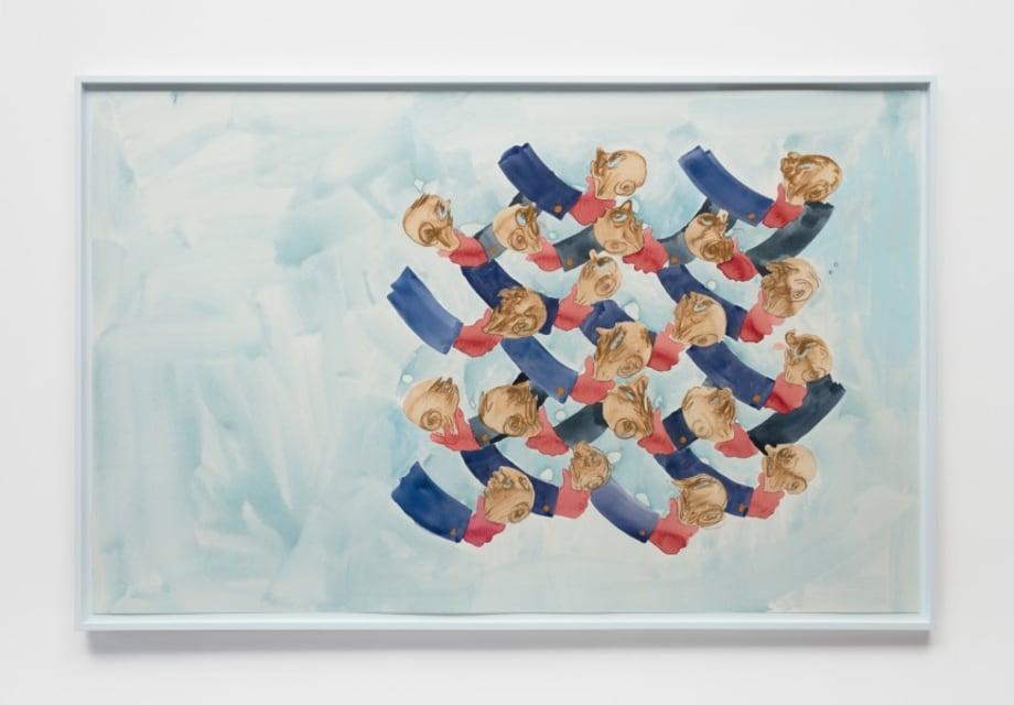 Infinitely repeating pattern I by Sanya Kantarovsky