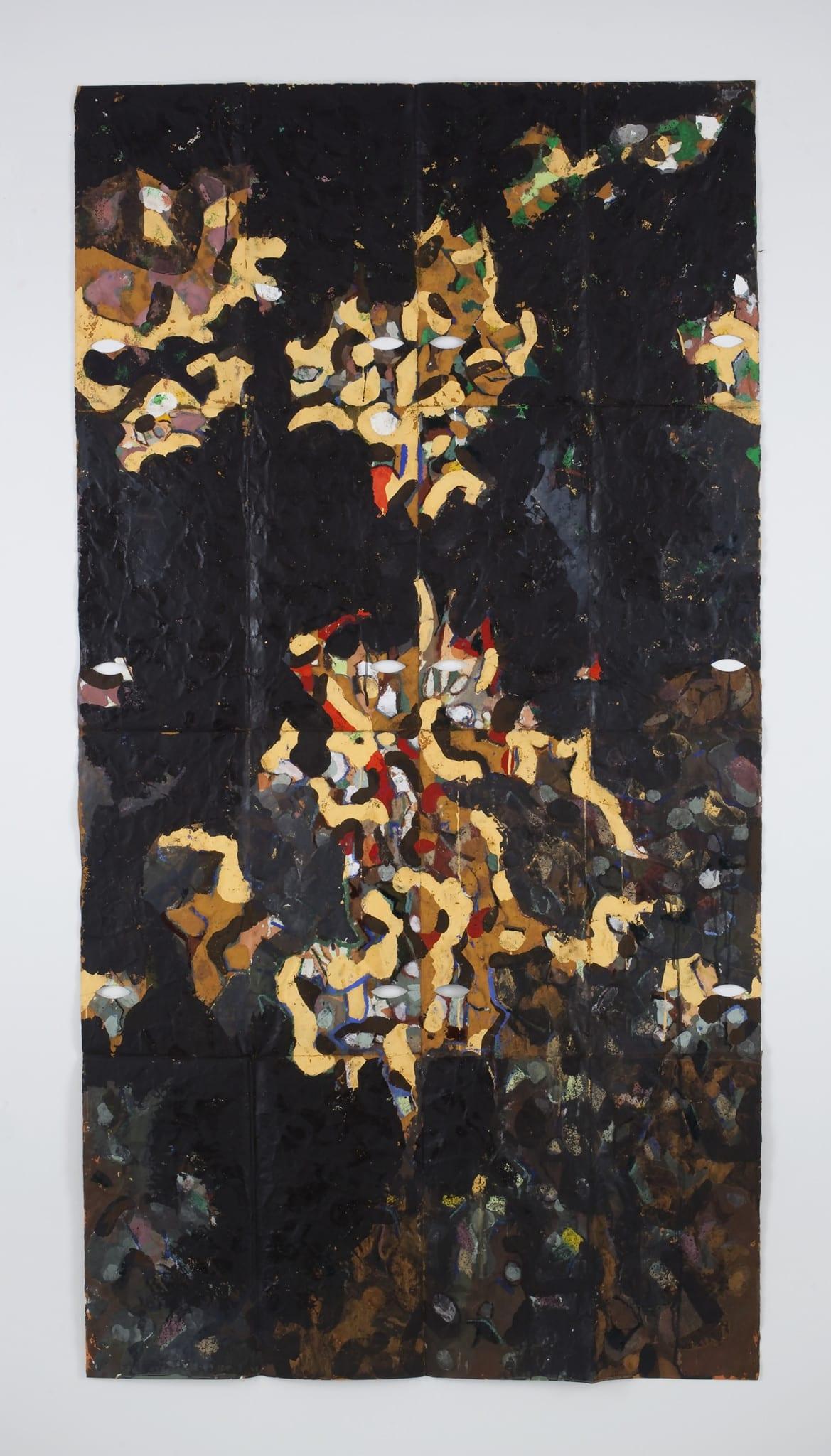 Dark Dragon, New York, Lac Du Bourdon by Gabriel Orozco
