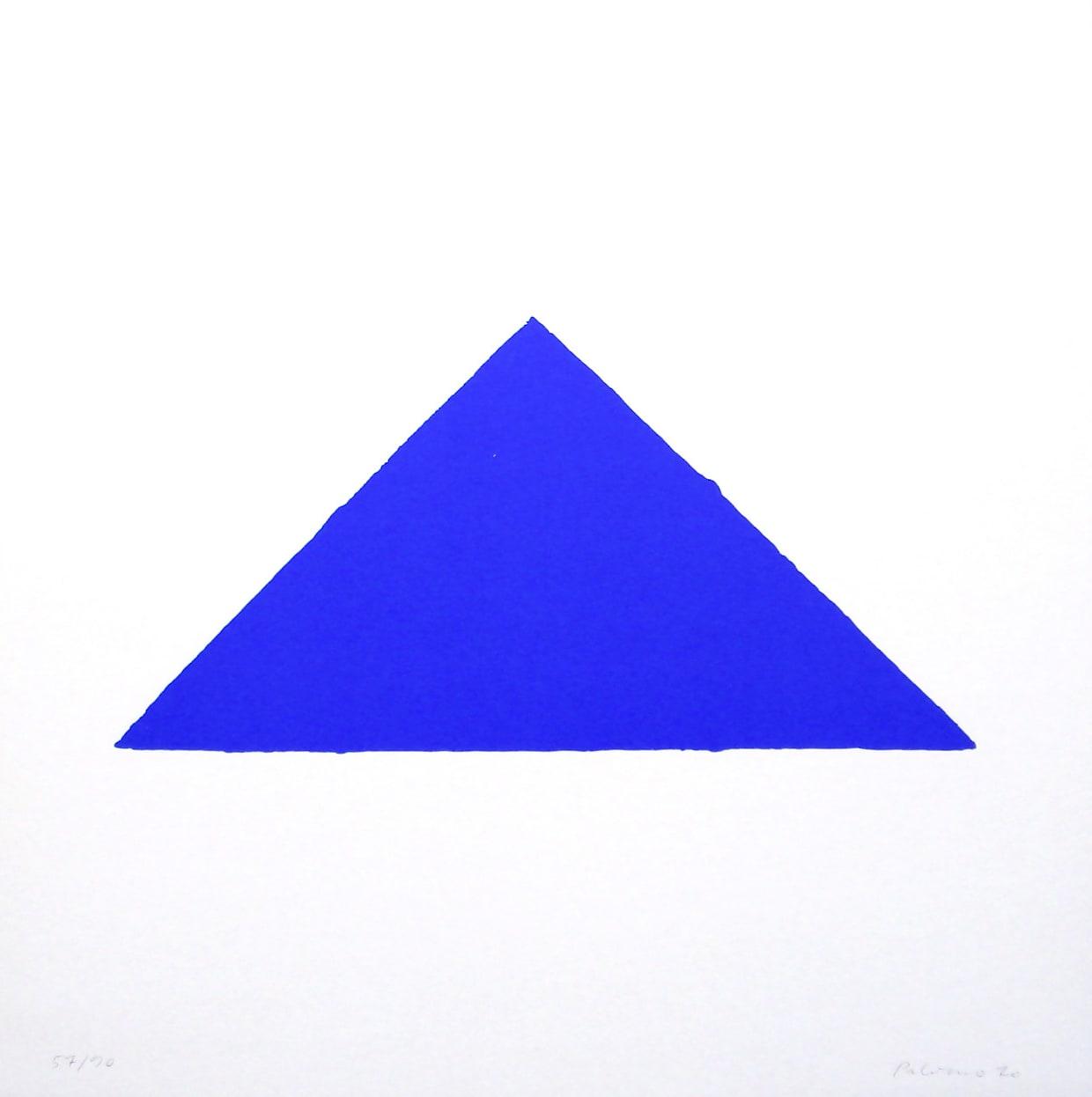 Blaues Dreieck (Jahn #3) by Blinky Palermo