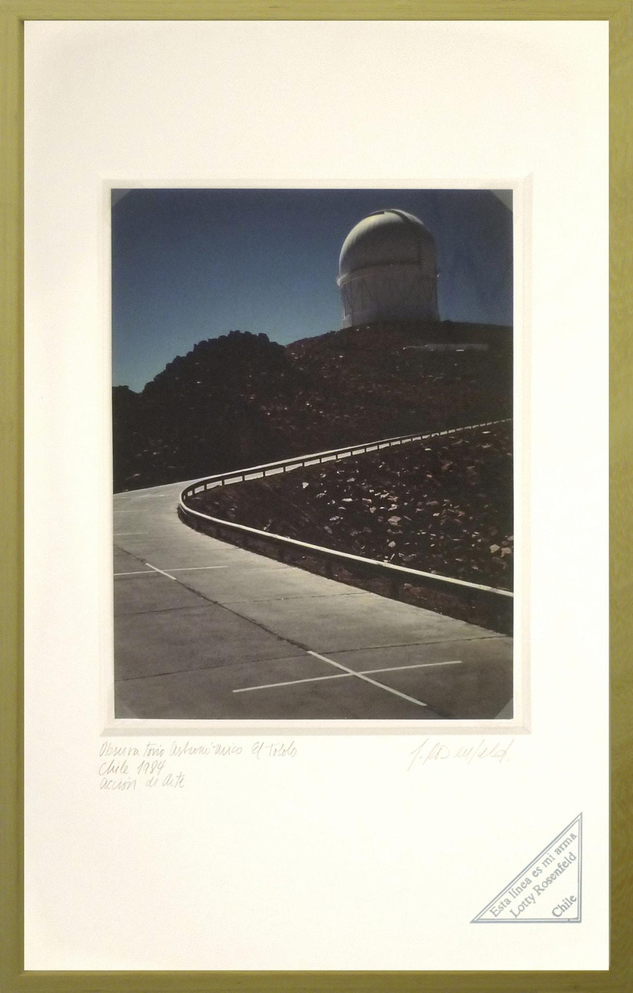 El Tololo. Observatorio Astronómico / El Tololo. Astronomical Observatory by Lotty Rosenfeld