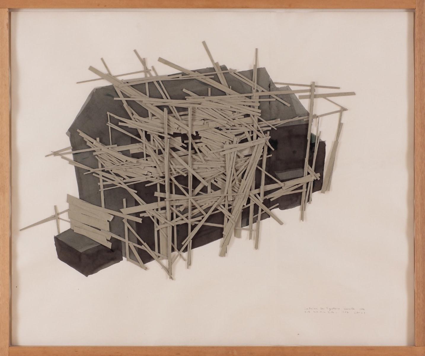 La Maison des Squatters, Grenoble Plan B-2 by Tadashi Kawamata