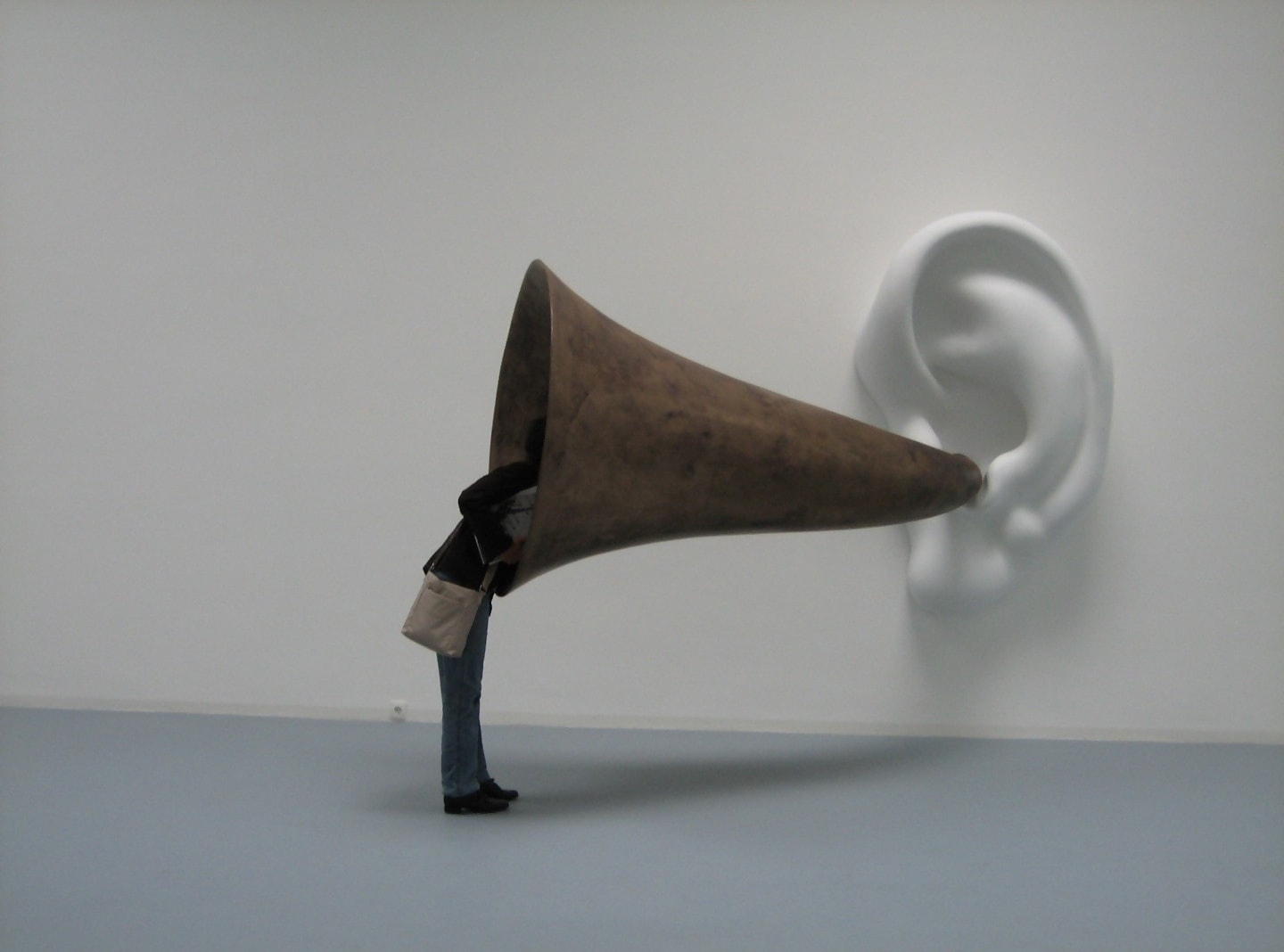 Beethoven's Trumpet (With Ear), Opus 127 by John Baldessari