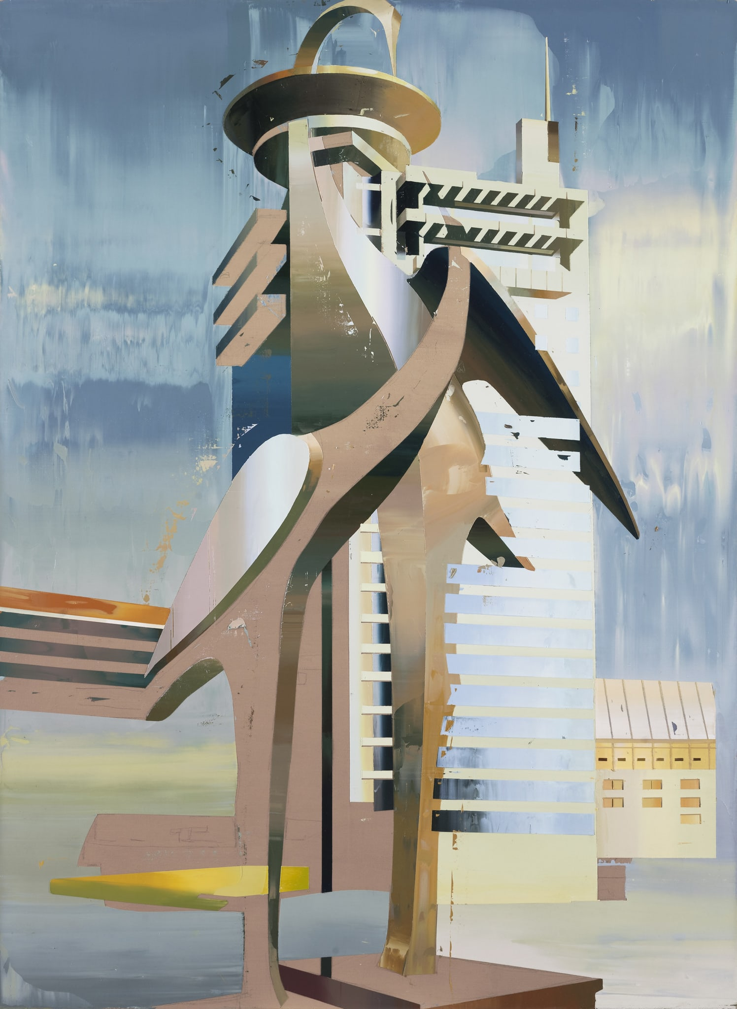 Building of Cranes #1 by Cui Jie