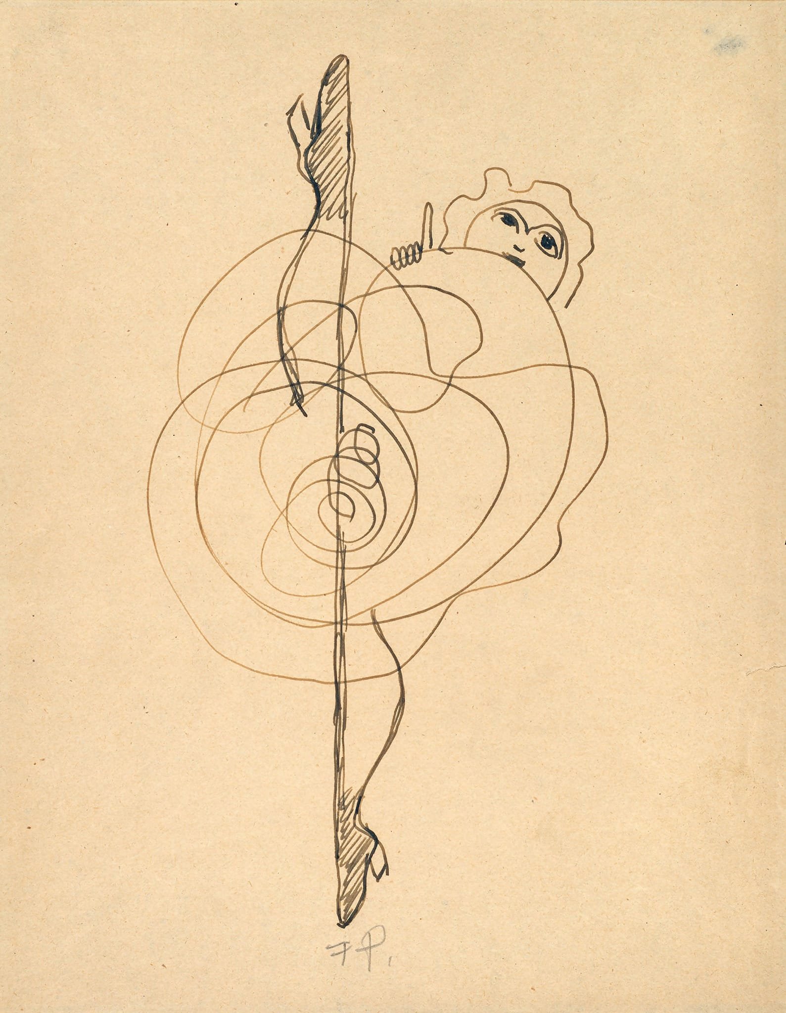 Untitled (Abstarct) by Francis Picabia