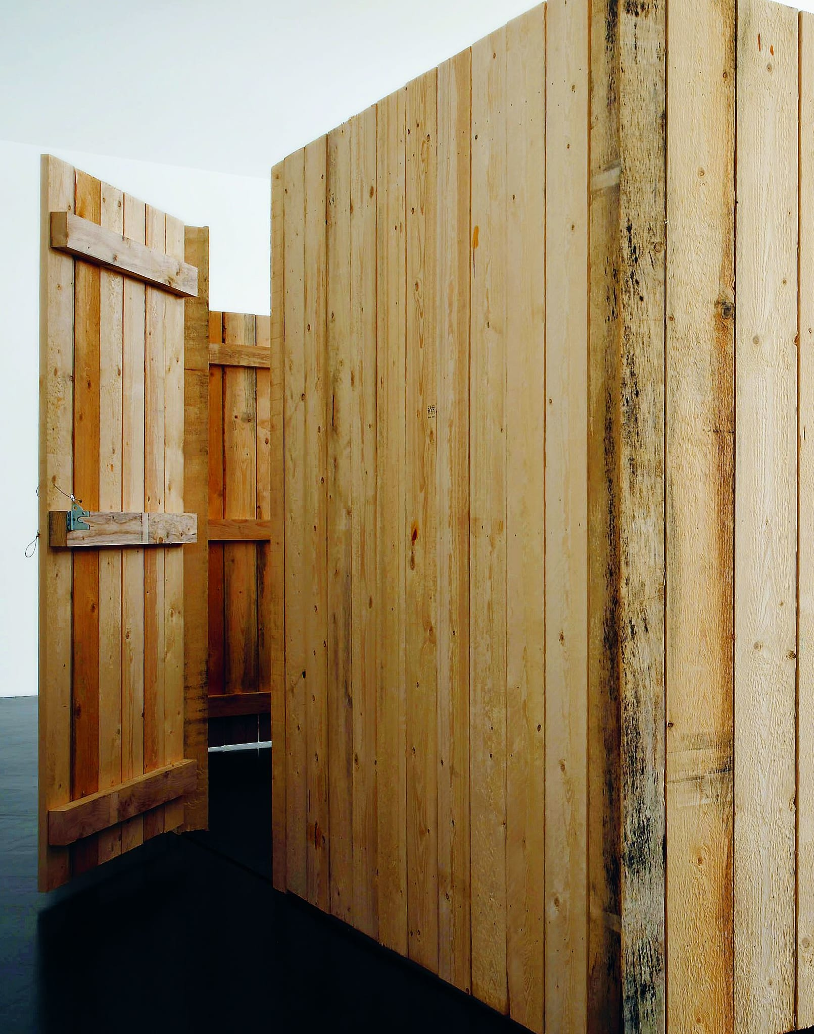 a good fence by Jim Hodges